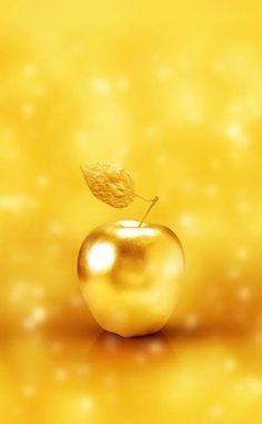 Wallpaper Backgrounds Aesthetic - Fond d& - Wallpaper. Abstract Iphone Wallpaper, Gold Wallpaper, Apple Wallpaper, Wallpaper Backgrounds, Yellow Art, Mellow Yellow, Spiritual Paintings, Gold River, Golden Apple
