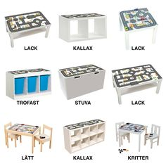 Perfect Lego Tables Full Of Storages - Kinderzimmer ideen 20 Perfect Lego Tables Full Of Storages Spieltisch statt Spielteppich heißt es im Limmaland. Lego Storage, Storage Spaces, Table Storage, Lego Room, Play Table, Toy Rooms, Kid Spaces, Custom Furniture, Kids Bedroom