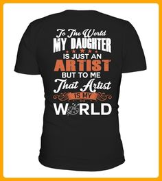 To The World My Daughter Is Just Artist - Shirts mit logo (*Partner-Link)