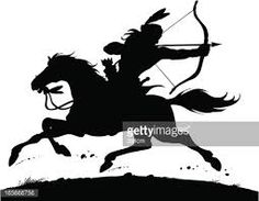 Image result for North American Indian silhouettes