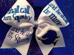 Finding Nemo cheer bow by CJBows on Etsy, $20.00