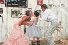 Marcie Milz Photography Barn wedding, rustic wedding, vintage wedding, country wedding, pink wedding dress