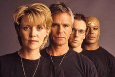 Samantha Carter, Jack O'Neill, Daniel Jackson, and Teal'c - Stargate: SG-1