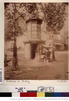 Boulevard de Clichy. N ° Atget : 3265. 1899-1900.