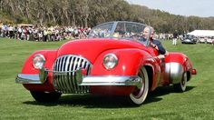 New book profiles history of the 1947 Kurtis-Omohundro Comet – America's first postwar sports car