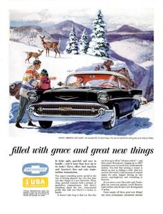 Sweet, smooth & sassy: Chevy's Bel Air Sport Coupe 1957 Chevy Bel Air, Chevrolet Bel Air, Chevrolet Impala, Volkswagen, Vintage Advertisements, Vintage Ads, Toyota, Classic Chevrolet, Car Advertising