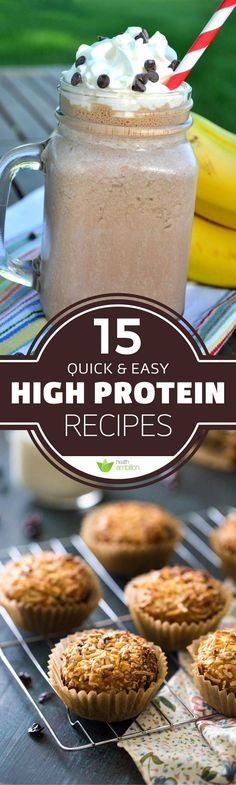 16 Quick and Easy High Protein Recipes