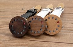 Luxury 12 holes Design Wood Watche With Genuine Leather Straps Wooden Watches For Men, How To Antique Wood, Wood Design, Wood Watch, Valentine Gifts, Bamboo, Luxury, Funny Watch, Leather