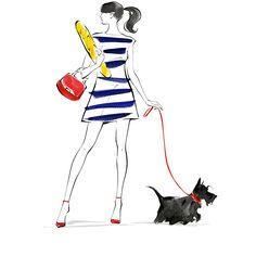 Модные Эскизы, Иллюстрации Арт, Модные Принты, Искусство Мода, Модный Дизайн, Собачье Искусство, Создание Комиксов, Модные Рисунки, Эскиз