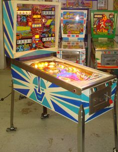 Pinball machines for sale, pinball game restoration and pinball service and more. Play Run, Robot Theme, Pinball Wizard, Penny Arcade, Arcade Machine, Gumball Machine, Vintage Games, Jouer, Arcade Games
