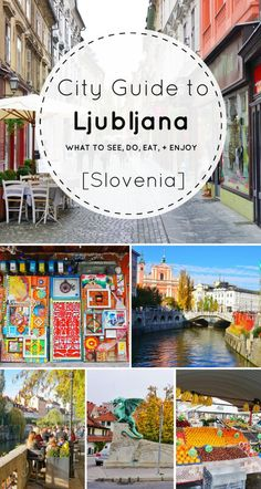 The best things to do in Ljubljana when you travel to Slovenia. With castles, cafes, city views, and more, it's the perfect spot for a long cozy weekend!
