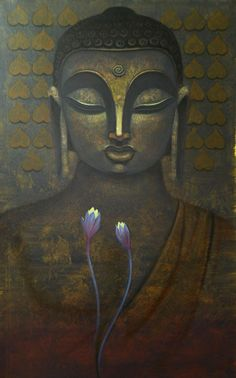 """""""To care for those who once cared for us is one of the highest honors.""""    ~  Tia Walker  * Indian Art Guru  Title: Buddha 1   <3 lis"""