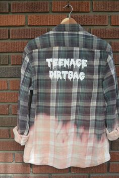 Teenage Dirtbag Flannel (handwash only) by allthingsgypsy on Etsy