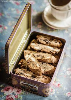 Galletas de chocolate y castaña