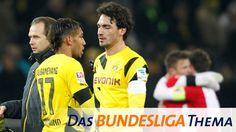 Szene nach dem Spiel Borussia Dortmund - FC Augsburg   Bildquelle: picture alliance