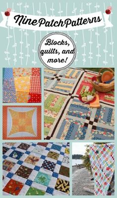 20 Free Nine Patch Quilt Patterns + Other Nine Patch Designs | FaveQuilts.com