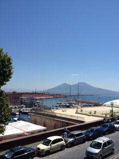 Napoli - vista do Vesúvio