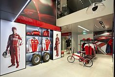 Ferrari Store Milan by Iosa Ghini Associati