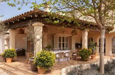 Small Spanish Style Homes Spanish Mediterranean Style Homes, spanish mediterranean homes Mediterranean Style Homes, Spanish Style Homes, Spanish House, Spanish Colonial, Mediterranean Architecture, Spanish Revival, Garden Architecture, Mediterranean Cribs, Mediterranean Living Rooms