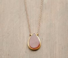 Agate Necklace Agate Pendant Necklace by theprophetsbazaar on Etsy