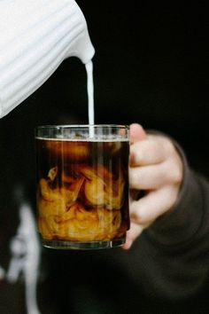 Clouds in your coffee. Get Geetered and wisk those clouds away from your brain pan.  G.coffeeFIEND.