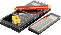 Kridt blyant  Kridtblyanten gør det meget nemmere at tegne mønstre op. Har du først prøvet at arbejde med den, fatter du ikke at du har kunnet undvære den!  - stof2000.dk