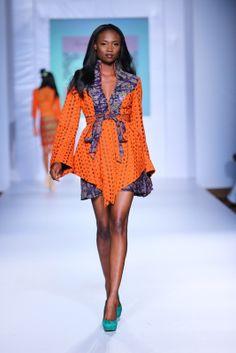 MTN Lagos Fashion & Design week: Spring/Summer 2013 House of Marie