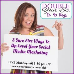 It's time to level up! No, I'm not talking about Pokemon Go. I'm talking about your social media marketing campaigns! Did you know you need three types of content on social media?  http://yourbizrules.com/3-sure-fire-ways-uplevel-social-media-marketing/ #smallbiz #socialmedia