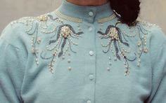 Have a weakness for vintage cardigans!!!