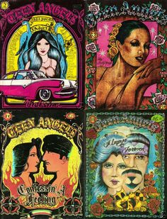 Teen chicano art prison angel magazine