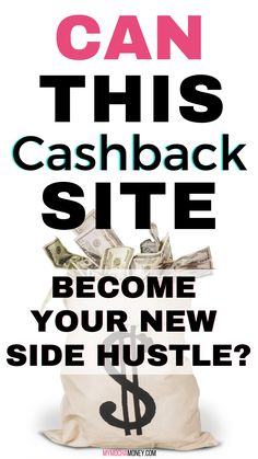 Can this cashback site become your new side hustle? This cashback site PLUS this buying technique can have you buying and selling for extra cash at home! You will be filled with ideas to make your side hustle rock! #cashbacksite #cashback #sidehustle #sidehustleideas #sidehustleideasathome #sidehustleideasextracash