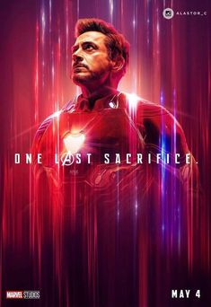"Avenger End Game: Tony Stark/Iron Man Wallpaper - ""One Last Sscrifice. Iron Man Avengers, Marvel Avengers, Hero Marvel, Marvel Fan, Marvel Dc Comics, Captain Marvel, Captain America, Avengers Cast, Avengers Images"