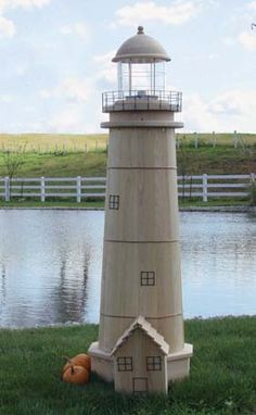 Wooden Lawn Furniture - Lighthouses | Yutzy's Farm Market