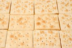 Copycat Saltine Cracker recipe - this will come in very handy for the homemade club sandwich candies I make, since I ALWAYS forget to buy saltines!