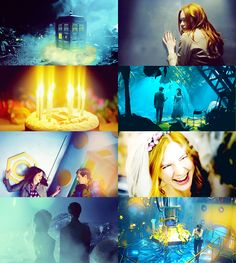 Doctor Who + blue
