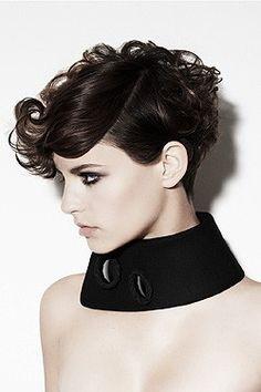 Cute Glam Punk Short Hair Styles