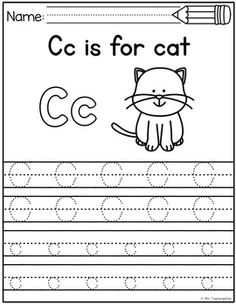 Alphabet Tracing Tracing Sheets, Tracing Letters, Uppercase And Lowercase Letters, Alphabet Writing, Letter Recognition, Letter Sounds, Lower Case Letters, Phonics, Preschool