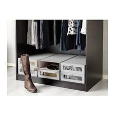 ikea hyfs bo te chaussures la bo te s 39 ouvre par devant ce qui vous permet d 39 acc der. Black Bedroom Furniture Sets. Home Design Ideas