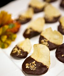 Chocolate Covered Potato Chips from Culinary Crafts