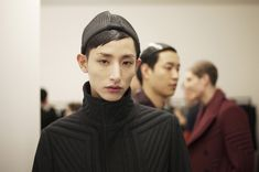 LEE SOOHYUK - BACKSTAGE AT WOOYOUNGMI AW13