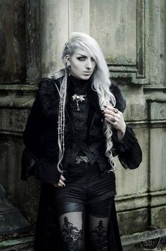 Model: Valentin Van Porcelaine Photo: Bella Bass Photography Vest and Pants: Punkrave store Jewelery by Alchemy Gothic Welcome to Gothic and Amazing   www.gothicandamazing.com