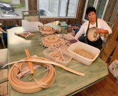 Native American Baskets, Native American Art, American Indians, Native Canadian, Indian Baskets, Iroquois, First Nations, Pottery Art, Basket Weaving