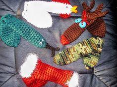 Ravelry: Crocheted Willie Warmers pattern by Debra Matz Christmas gifts Crochet Men, Crochet Cozy, Crochet Gifts, Free Crochet, Knit Gifts, Crochet Shell Stitch, Crochet Things, Thread Crochet, Yule