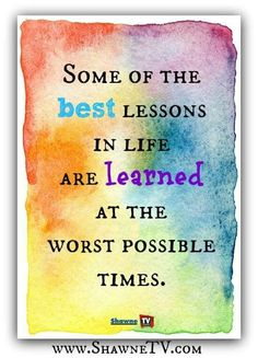 Best lessons