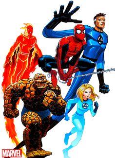Fantastic Four by John Romita Jr