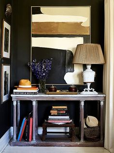 Be inspired by talented designer,  William McLure's  bright and beautiful, art-filled apartment below!                                   ...