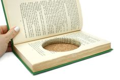Hollow Book Wedding Ring Box Handmade Green by Virtualdistortion, $35.00... put a clasp on it to keep it closed??