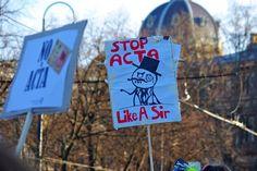Lulz Sec - Stop ACTA like A Sir.