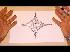 Clases de mandala: Dibujo Tecnico 1 - YouTube Zentangle Drawings, Zentangle Patterns, Illusion Drawings, 3d Art Drawing, Donut Decorations, String Art Patterns, Spirograph, 3d Quilts, Op Art