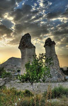 Fairy Chimneys in Cappadocia (Turkey) | Flickr - Photo Sharing!